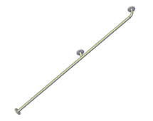 Поручни для инвалидов вертикальный 1800 мм